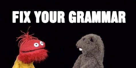 Fix yo grammar.