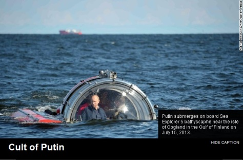 Putin in a bubble